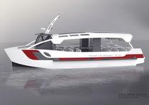 Diesel sightseeing boat / inboard / aluminum