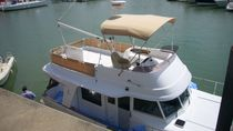 Power boat Bimini top / flybridge