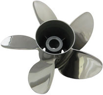 Speedboat propeller / fixed-pitch / outboard and sterndrive / 5-blade