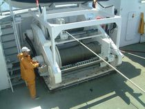 Fishing ship winch / purse seine / hydraulic drive