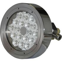 Underwater yacht light / LED / through-hull / multi-color