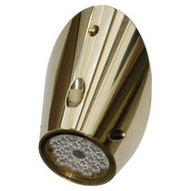 Underwater boat light / LED / surface-mount / bronze