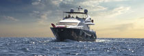Yacht propulsion system / diesel / electric