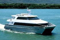 Catamaran logistics transport boat / inboard / inboard waterjet / aluminum