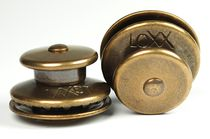 Boat snap fastener / for covers / brass