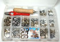 Boat snap fastener / for covers / metal