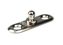 Boat snap fastener / for covers / male / metal