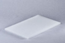 Polycarbonate honeycomb core material