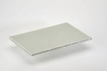 Ship floor sandwich panel / aluminum honeycomb / fiberglass / for natural stone supports
