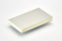 Ship partition wall sandwich panel / for thermal insulation / PVC foam / PET foam