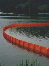 Pollution-control boom / rigid-float / floating / sheltered waters