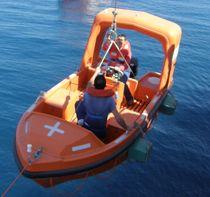 Outboard rescue boat