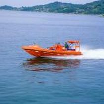 Inboard waterjet rescue boat / outboard / rigid hull inflatable boat