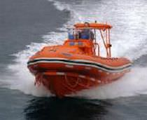 Outboard rescue boat / inflatable boat / semi-rigid / center console