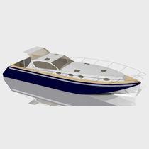 Inboard express cruiser / 3-cabin / sundeck