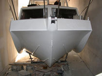 Inboard cabin cruiser / hard-top / sport / 6-person max.