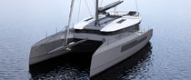 Sailing catamaran / fast cruising / flybridge / with 3 or 4 cabins