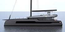 Catamaran / cruising / flybridge / 5-cabin