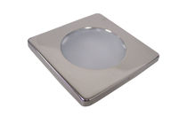 Indoor ceiling light / for boats / LED / aluminum