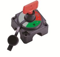 Boat battery switch with key