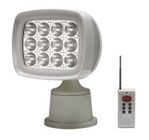 Deck floodlight / LED / remote-controlled