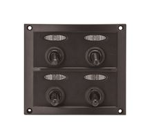Boat switch panel / splash-resistant / LED