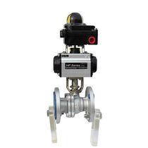 Ball marine valve / bi-directional / for ships