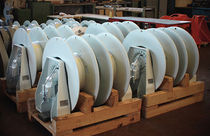 Ship winch / electric drive / single-drum