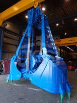Bulk cargo grab / for bulk carriers