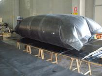 Hydrocarbon tank / temporary storage / self-supporting