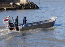 Outboard work boat / aluminum