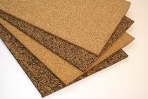 Thermal insulation panel / soundproofing / cork / particle board