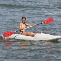 Sit-on-top kayak / rigid / surf / recreational