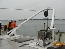 Ship lifting A-frame for ships
