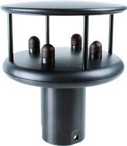 Wind vane sensor / anemometer / for ships / ultrasonic