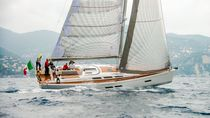 Cruising-racing sailing yacht / open transom