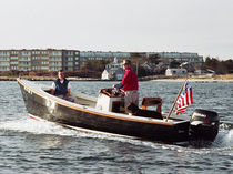 Outboard center console boat / traditional / 6-person max.