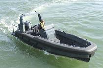 Outboard patrol boat / aluminum / RIB