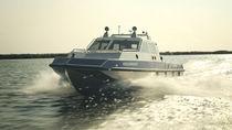 Diesel-electric hybrid patrol boat / aluminum