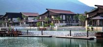 Floating dock / mooring / for private residences / concrete