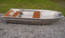Outboard small boat / aluminum / 2-place
