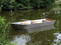 Outboard small boat / aluminum / 5-person max.