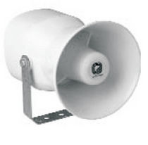 Ship speaker / with mounting bracket / plastic