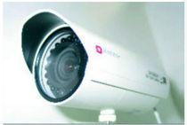 Ship video camera / video surveillance / fixed