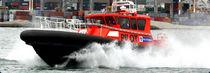 Inboard service boat / aluminum