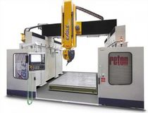 5-axis high-speed CNC vertical machining centre for composites or resins (for boatyards and shipyards) EAGLE Breton
