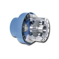Ship gear transmission freewheel