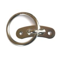 Mooring ring / round / stainless steel