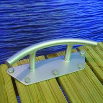 Dock mooring cleat / flat