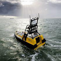 Oceanographic survey autonomous surface vehicle / for environmental measurements / for hydrographic surveys / monohull